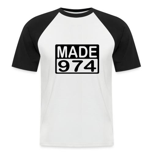 Made 974 - v2 - T-shirt baseball manches courtes Homme
