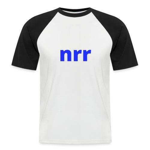NEARER logo - Men's Baseball T-Shirt