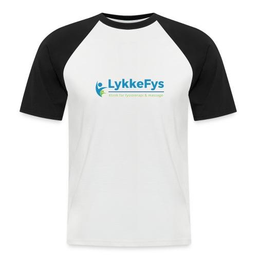 Lykkefys Esbjerg - Kortærmet herre-baseballshirt