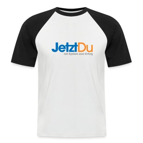 JetztDuLogo ArtWork1 - Männer Baseball-T-Shirt