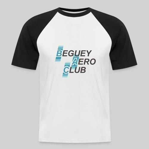 logo Le B.A.C. 2018 bordure blanche - T-shirt baseball manches courtes Homme