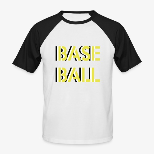 Baseball relief - T-shirt baseball manches courtes Homme