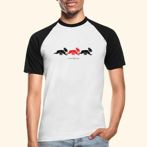 frenchies BR - T-shirt baseball manches courtes Homme