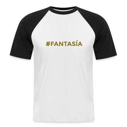 FANTASIA - Camiseta béisbol manga corta hombre