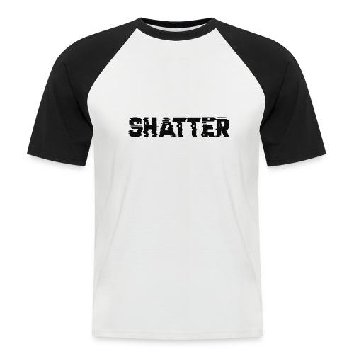 shatter - Männer Baseball-T-Shirt