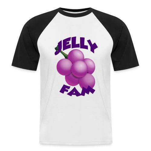 JellySquad - Kortærmet herre-baseballshirt