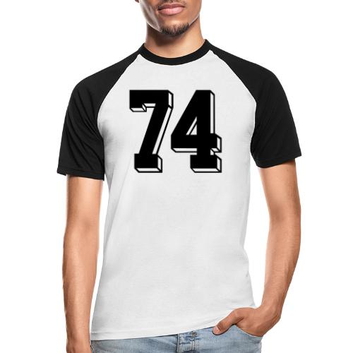 Football 74 - Men's Baseball T-Shirt