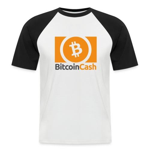 Bitcoin Cash - Miesten lyhythihainen baseballpaita