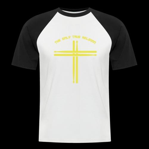 True Religion - Männer Baseball-T-Shirt