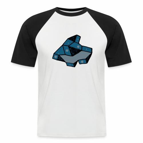 dot rock - Mannen baseballshirt korte mouw