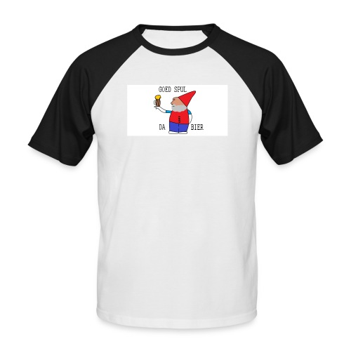 BIER KUT! - Mannen baseballshirt korte mouw