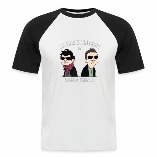lafinestratégie - T-shirt baseball manches courtes Homme