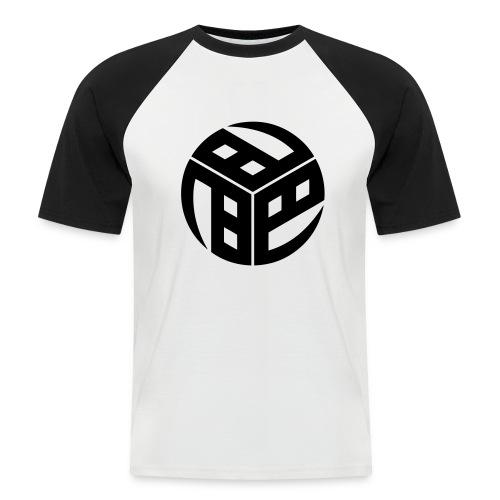 Mitsudomoe Symbol (stylisiert) - Männer Baseball-T-Shirt