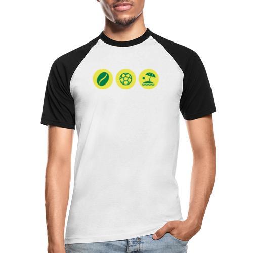 Circles - Brazil - Men's Baseball T-Shirt