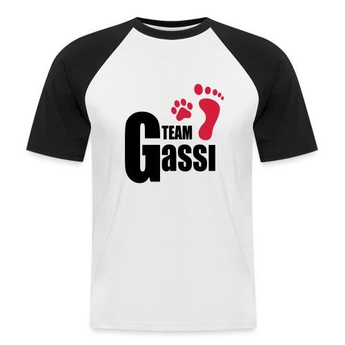 Vorschau: Team Gassi - Männer Baseball-T-Shirt