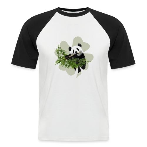 My lucky Panda - T-shirt baseball manches courtes Homme