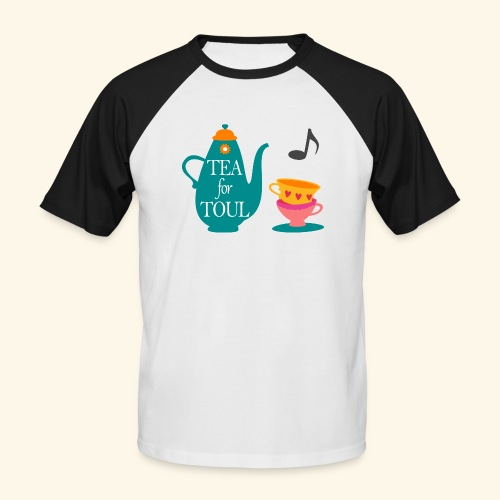 Tea for Toul - T-shirt baseball manches courtes Homme