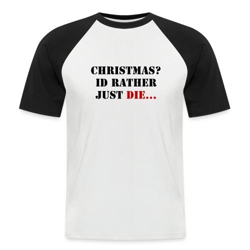 Christmas joy - Men's Baseball T-Shirt
