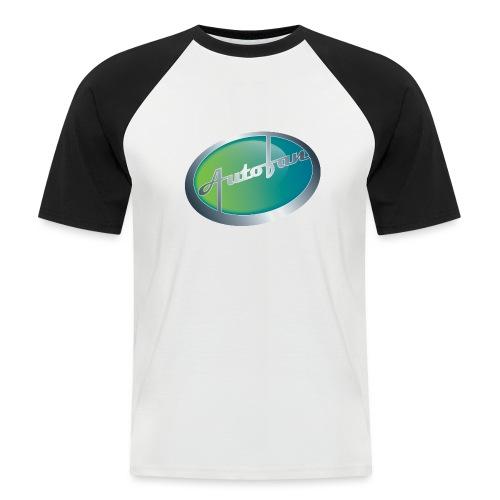Autofan groen - Mannen baseballshirt korte mouw