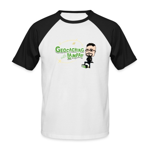 Geocaching With Lampay - T-shirt baseball manches courtes Homme