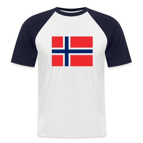 DixieMertch - Kortermet baseball skjorte for menn