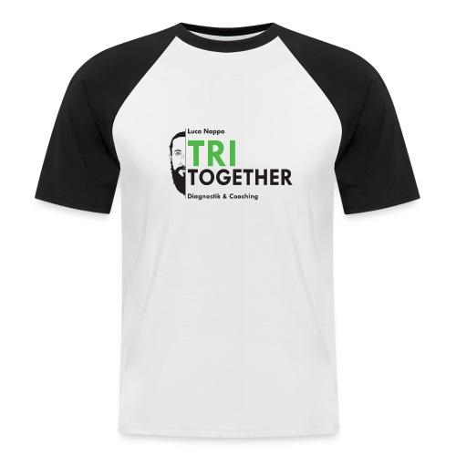 LUCA_TRI_TOGETHER - Männer Baseball-T-Shirt