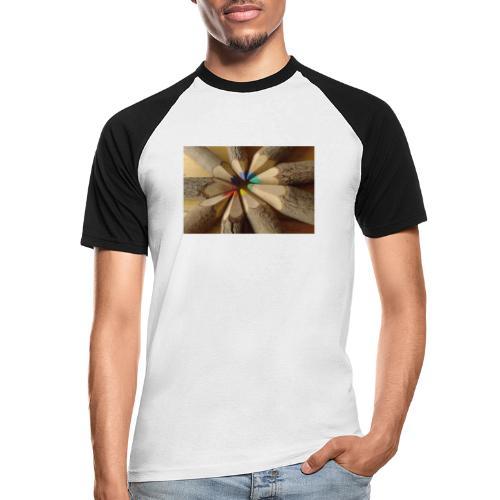 flo - Camiseta béisbol manga corta hombre