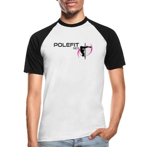 Pole-Fit-NES - Männer Baseball-T-Shirt