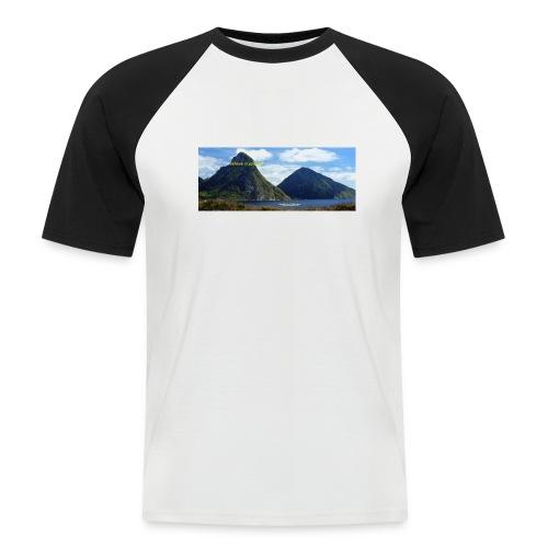 believe in yourself - Men's Baseball T-Shirt