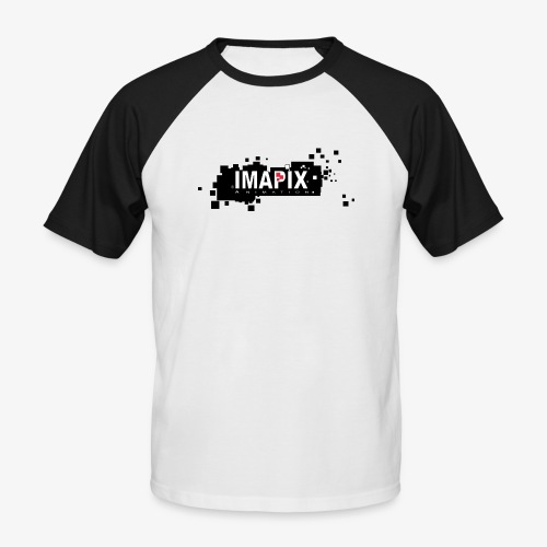 IMAPIX ANIMATION Rectro02 - T-shirt baseball manches courtes Homme
