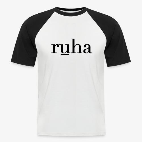 Ruha - Mannen baseballshirt korte mouw