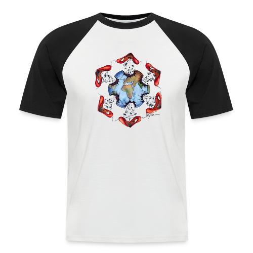 Égoïsme de l'être humain - T-shirt baseball manches courtes Homme