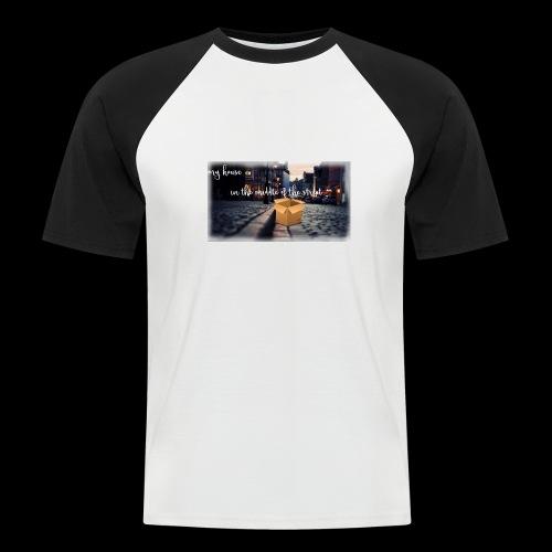 HOUSE SERIES - Mannen baseballshirt korte mouw