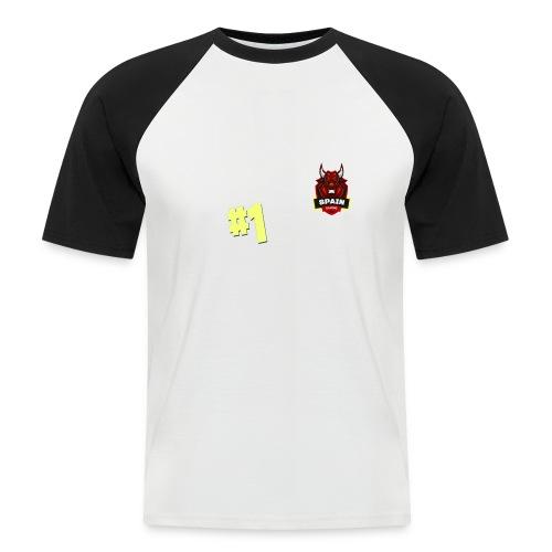 Top 1 - Camiseta béisbol manga corta hombre
