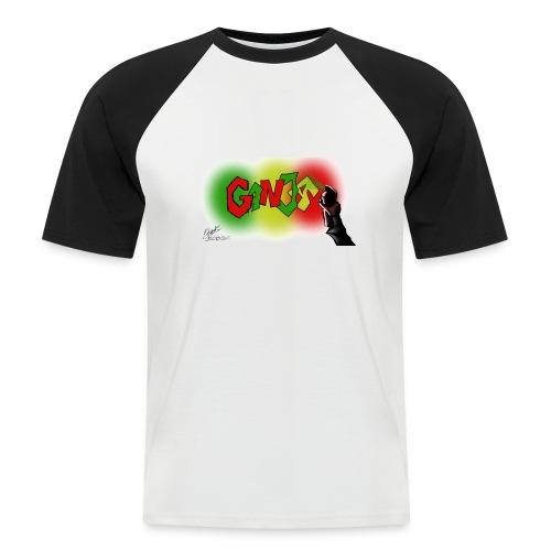 Ganja - Kortærmet herre-baseballshirt