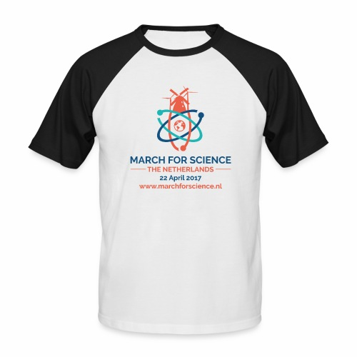 MfS-NL logo light background - Men's Baseball T-Shirt