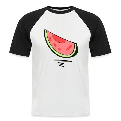 Pastèque - T-shirt baseball manches courtes Homme