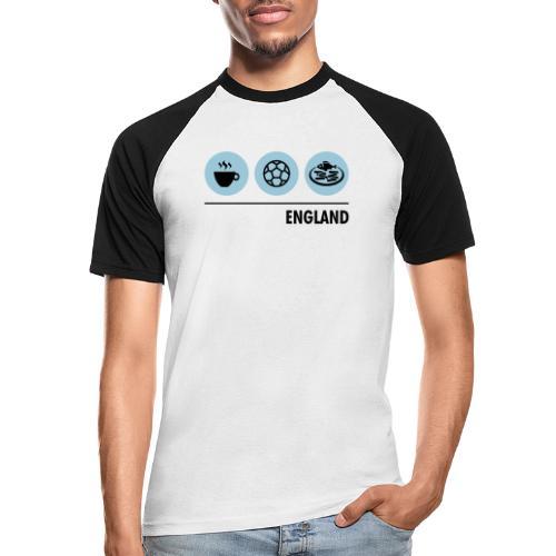 Circles - England - Men's Baseball T-Shirt