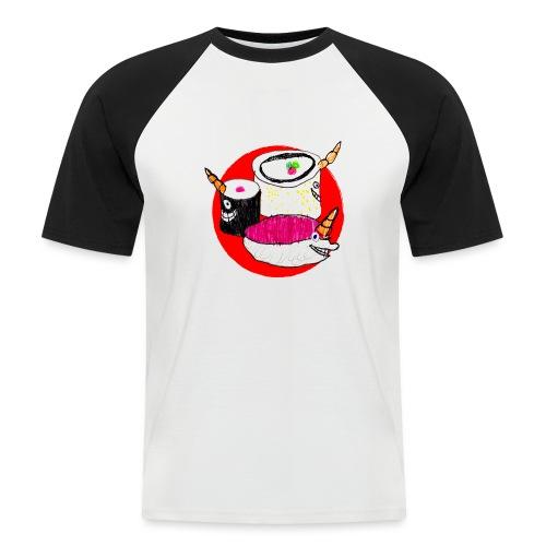 Unicorn Sushi - Men's Baseball T-Shirt
