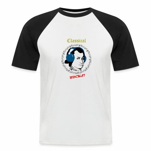 Classical Rocks! - Men's Baseball T-Shirt
