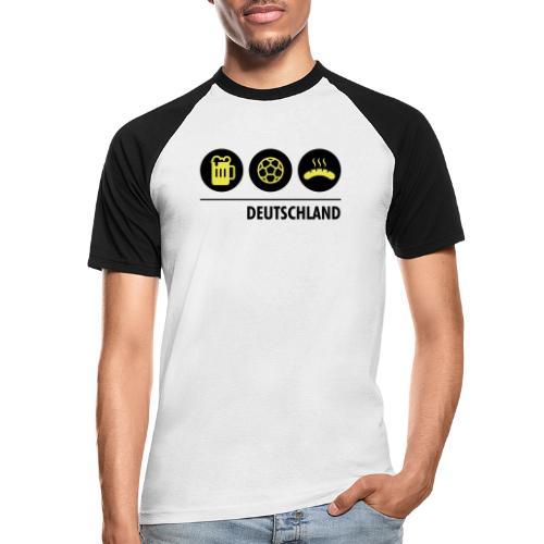 Circles - Germany - Men's Baseball T-Shirt