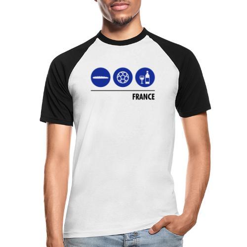 Circles - France - Men's Baseball T-Shirt
