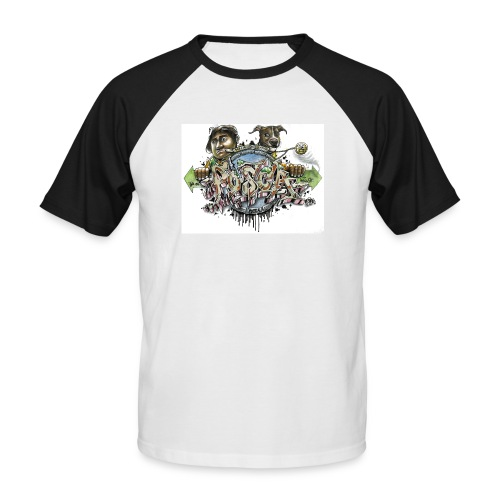 Mainbattle mind21 - Männer Baseball-T-Shirt