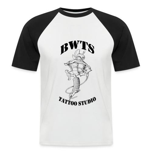 bwtslogoblack - Männer Baseball-T-Shirt