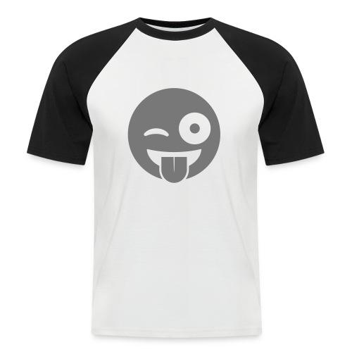 Emoji - Männer Baseball-T-Shirt