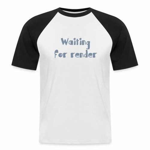 RENDER - Camiseta béisbol manga corta hombre