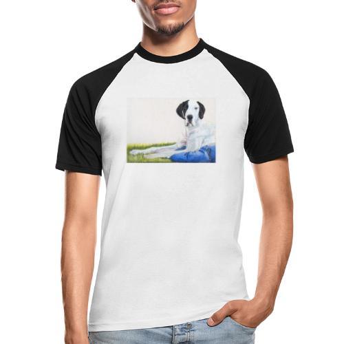 Grand danios harlequin - Kortærmet herre-baseballshirt