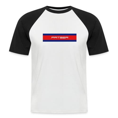 PATSER - Mannen baseballshirt korte mouw