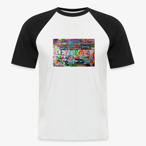 IMG 4152 - Kortærmet herre-baseballshirt
