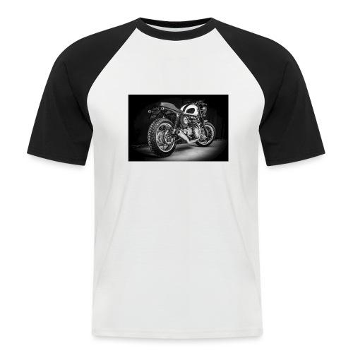 Monia's Thruxton 'Performance Scrambler' - Men's Baseball T-Shirt